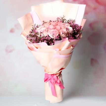 Mystics of Roses Bouquet: Flower Bouquet