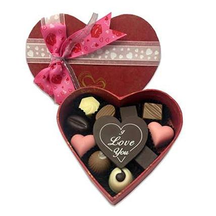 Heart Shape I Love You Chocolates: Valentines Chocolates