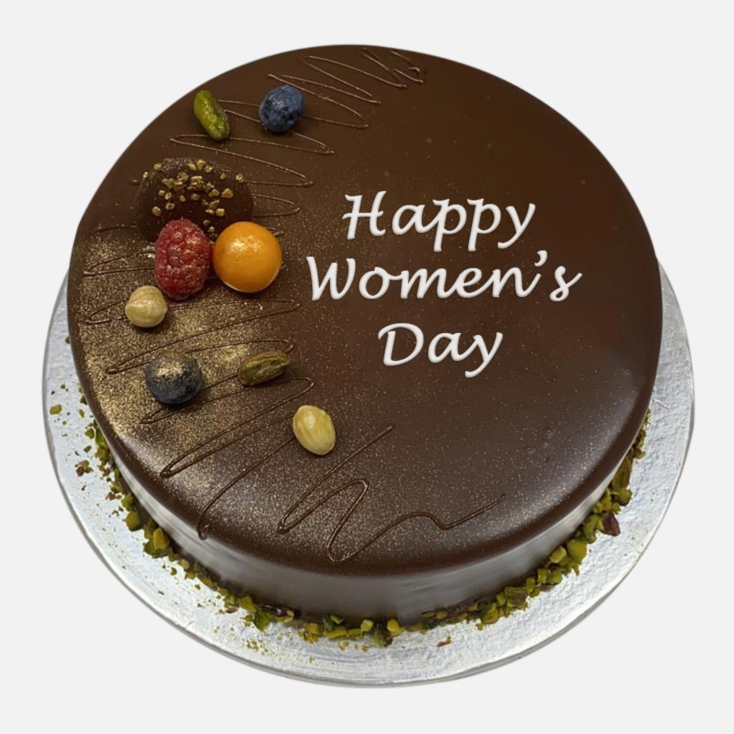 Womens Day Chocolate Cake: Women's Day Gifts