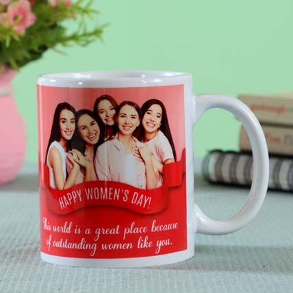Understanding Women Personalised Mug White: Custom Women's Day Gifts