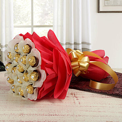 Rocher Choco Bouquet: Chocolate Bouquet Singapore