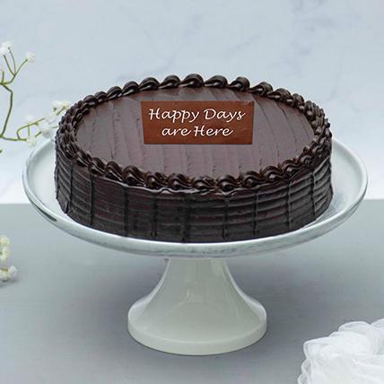 Retirement Chocolate Fudge Cake: Retirement Gifts