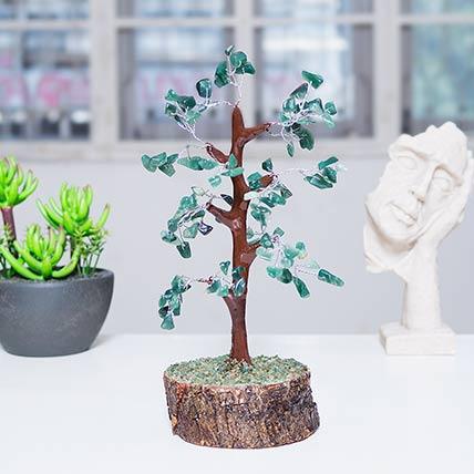 Green Quartz Wish Tree: Wish Tree