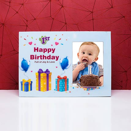 Personalised Birthday Photo Frame: Customized Gifts