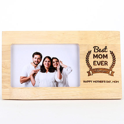 Best Mom Ever Photo Frame For Mothers Day: Customized Mother's Day Gift