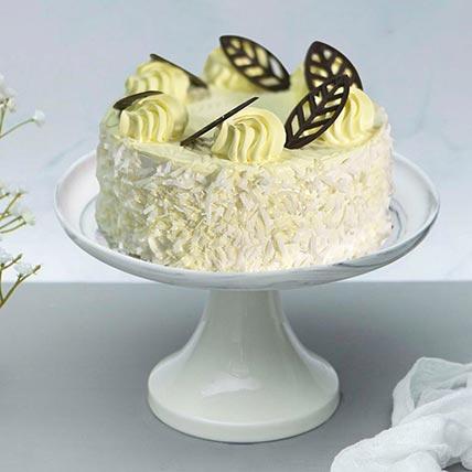 Luscious Durian Cake: Vanilla Cakes