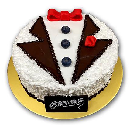Classic Blackforest Tuxedo Cake: Fathers Day Cake Singapore