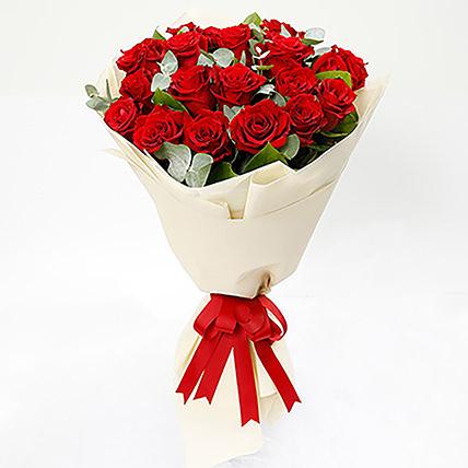 Timeless 20 Red Roses Bouquet: Florist Serangoon