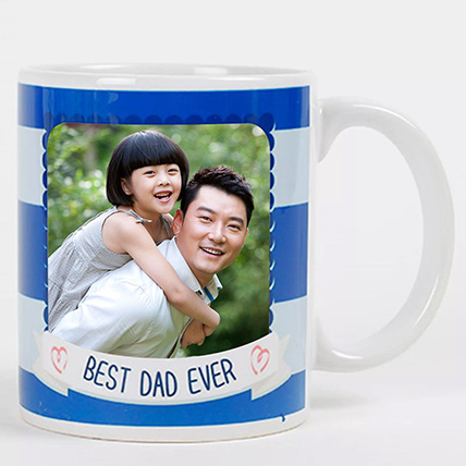 Personalised Mug For Best Dad: Personalised Gifts for Father