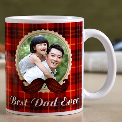 Best Dad Ever Personalised Mug For Father: Personalised Gifts For Dad