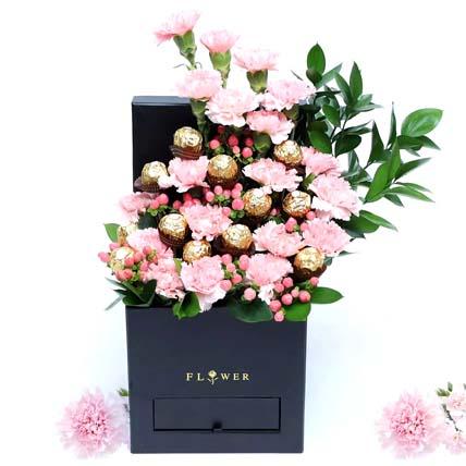 Affairs Hearts Arrangement: Carnations Bouquets