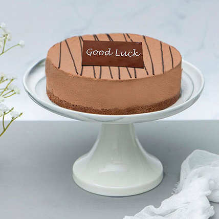 Rich Chocolate Truffle Farewell Cake: