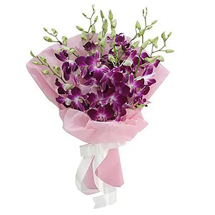 Exotic Beauty Flower Bunch: Orchid Arrangements
