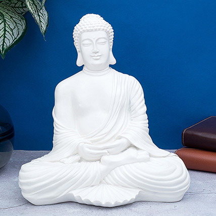 Handcrafted Solid Buddha Decorative Showpiece: Gift Delivery Singapore