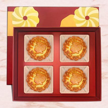 Soy Yolk Bakeskin Mooncake: Best Mooncakes