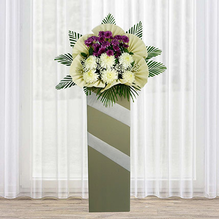Eternal Condolence Mixed Flowers: Sympathy and Condolence Flowers