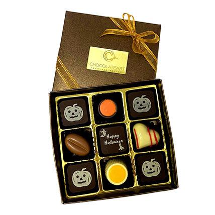 Halloween Special Tempting Chocolates: Halloween Gifts