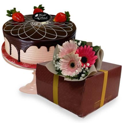 Chocolate Sponge Cake: Gifts To Malaysia