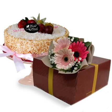 Lemon Cheese Mousse Cake: Cake Delivery Malaysia