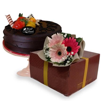 Special Dark Chocolate Sponge Cake: Gifts To Malaysia