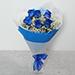 Order Blue Roses Beautiful Bouquet in Dubai