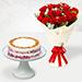 Red Velvet Peanut Butter Cake & Timeless Roses
