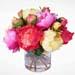 Pastel Dream Peonies Vase Arrangement
