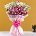 Ten Purple Orchids Bouquet