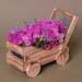 Purple Roses Arrangement In Cart