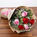 Attractive 6 Stolen Roses Bouquet