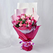 Magnificent Mixed Roses Wrapped Bouquet