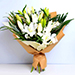 White Sweet Lilies Bouquet