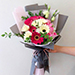 Majestic Mixed Flowers Beautifully Tied Bouquet