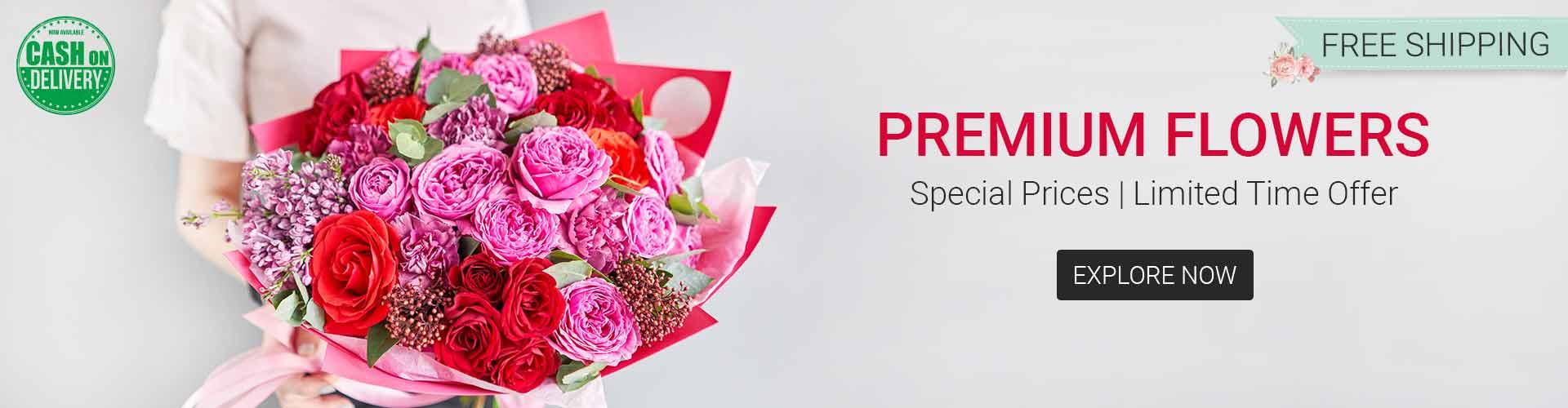 premium flower delivery