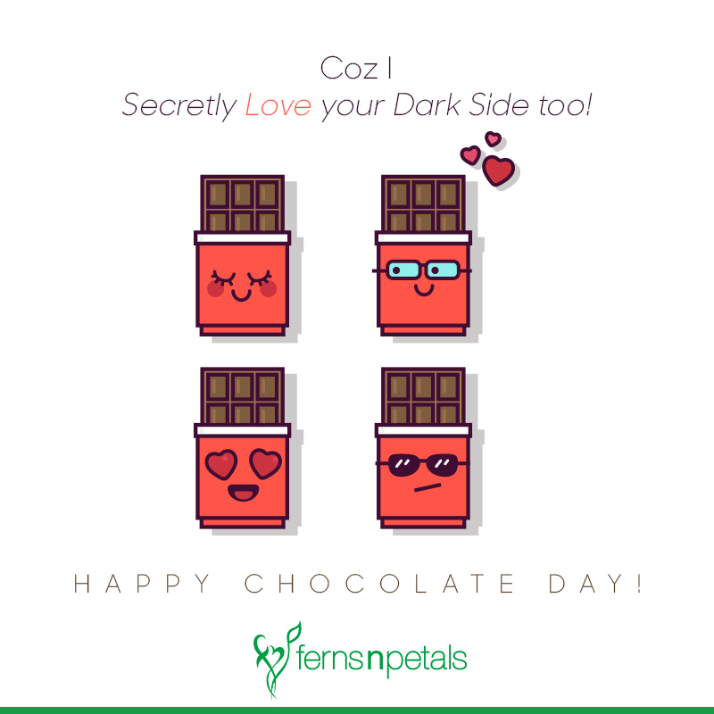 happy chocolate day photo