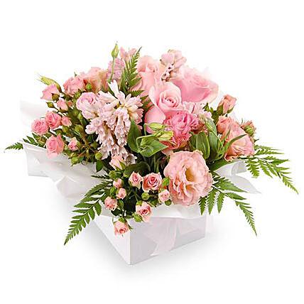 Arrangement of Beautiful Pastel Coloured Flowers