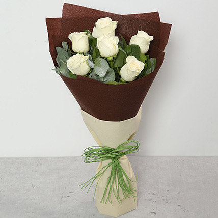 Bouquet Of White Roses BH