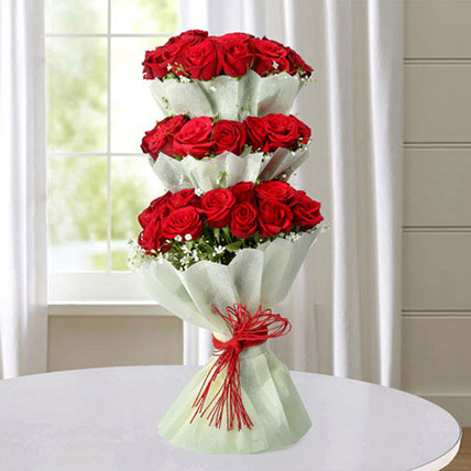 Multi Storied Roses BH