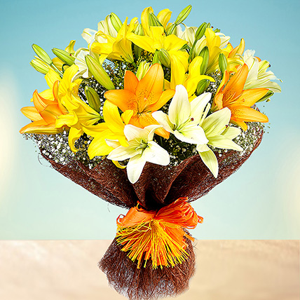 Sunny Asiatic Lilies BH