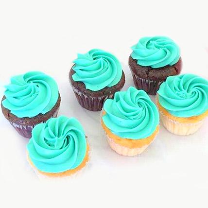 Divine Chocolate Cupcakes 6 Pcs