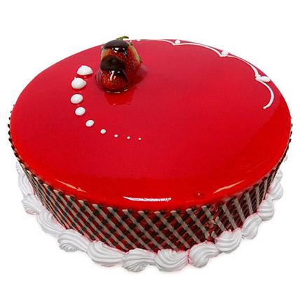 1Kg Strawberry Carnival Cake EG