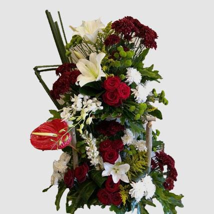 Blooming Mixed Flowers Arrangement