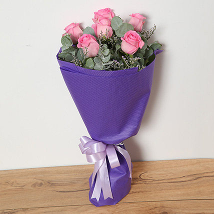 Bouquet Of Pink Roses EG