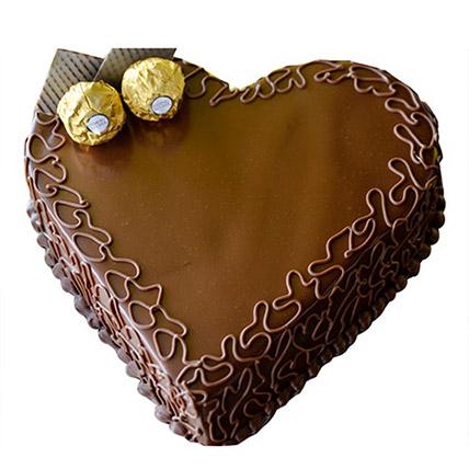 Heart Choco Cake EG