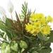 Basket Arrangement of Flowering Plants