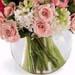 Bouquet of Pastel Colour Flowers