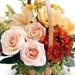Bunch of Delicate Flowers In Basket