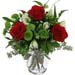 Bunch of Roses & Mixed Seasonal Flowers