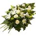 Funeral Bunch of Light Coloured Lilies & Roses