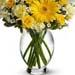 Lovely Glass Vase Arrangement of Flowers